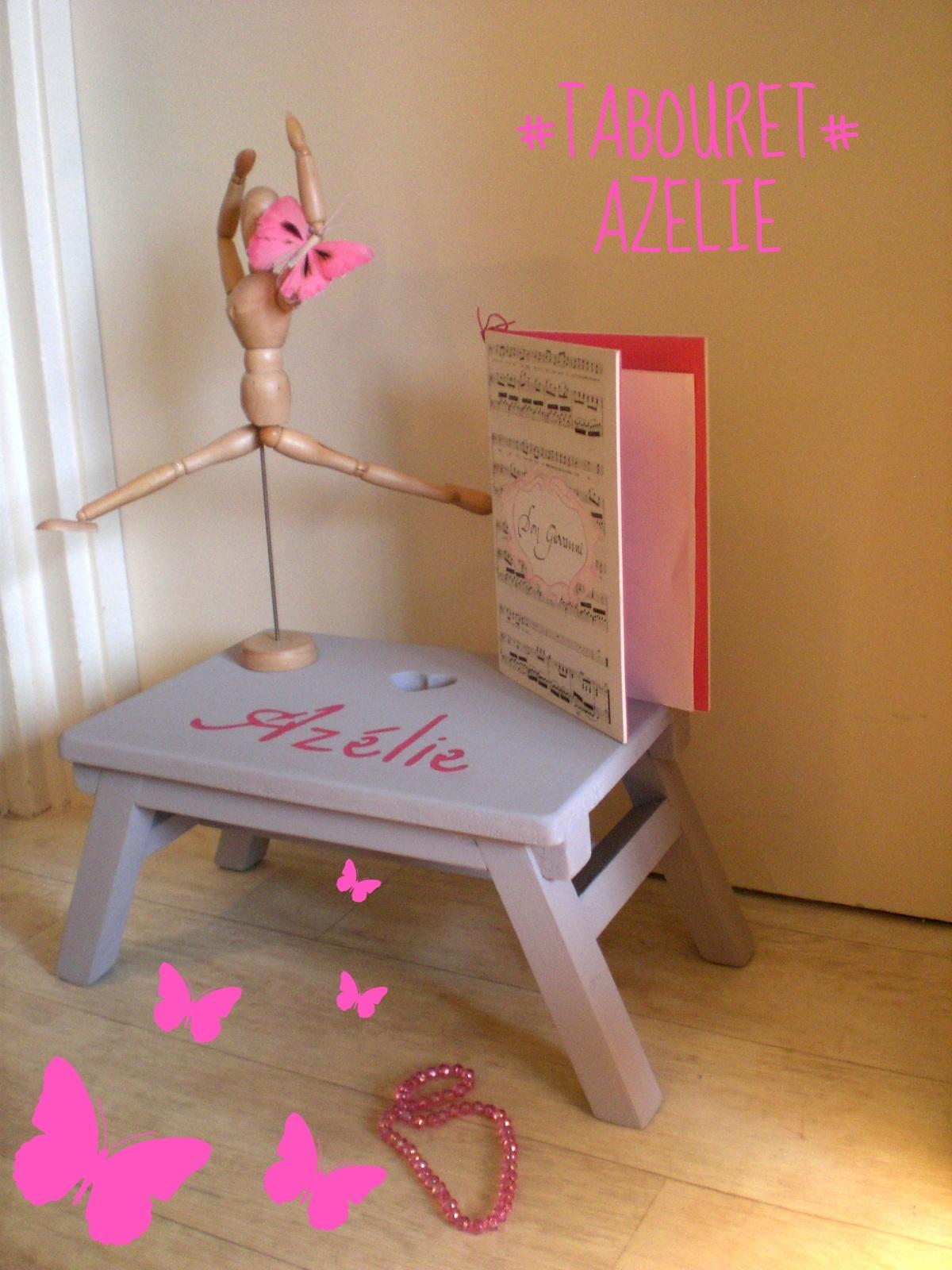 Fabrication d'un tabouret d'enfant