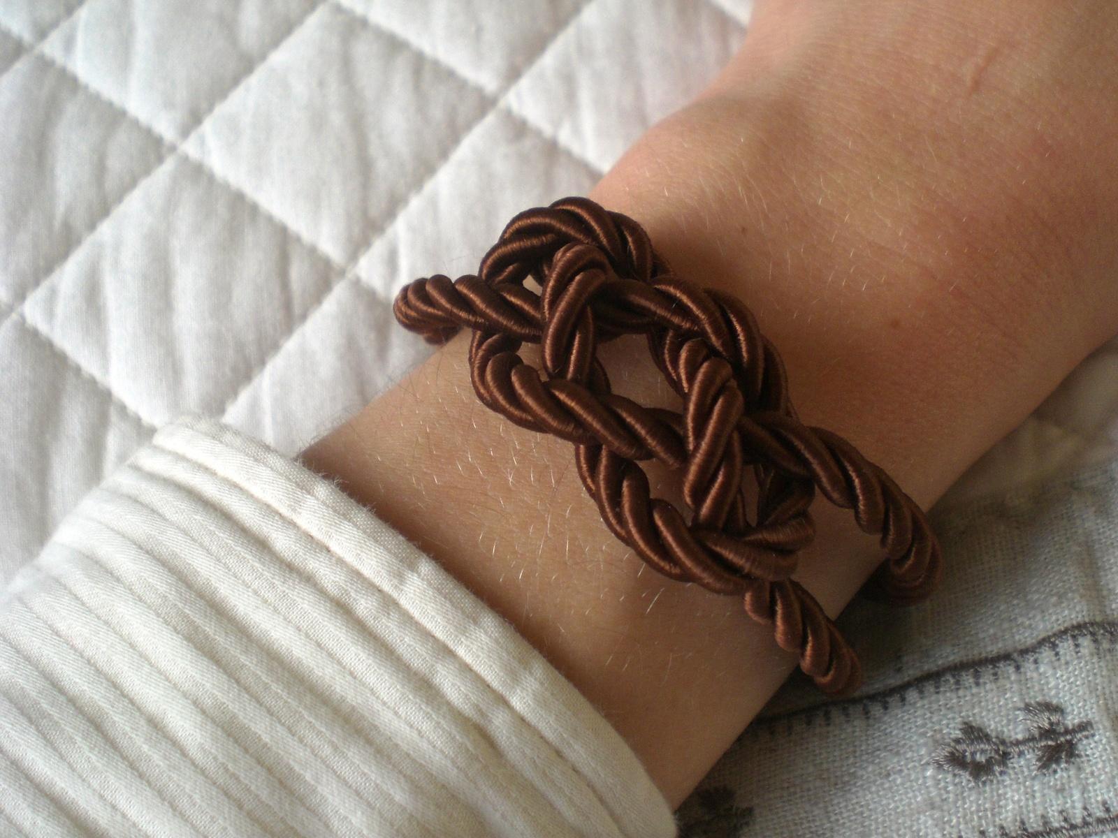 bracelet marin noeud plat