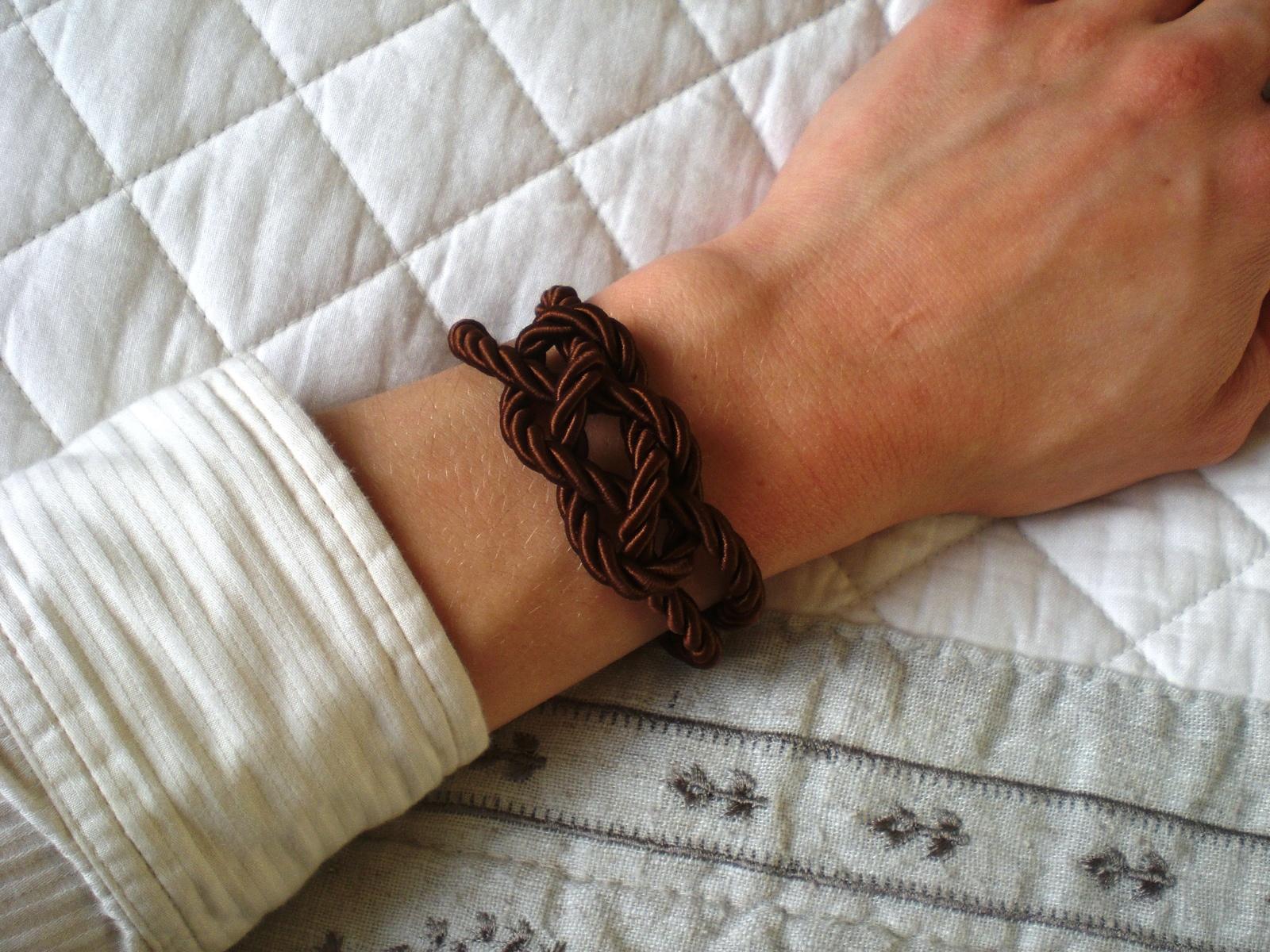 Bracelet au nœud marin pimprelys