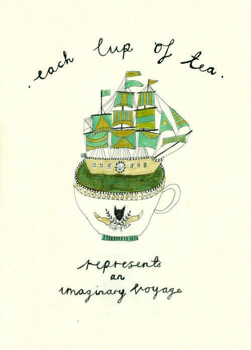Inspiration #7 (L'heure du thé)