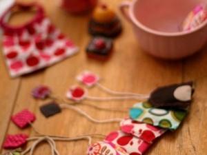 sachets de thé en tissu pour dinette