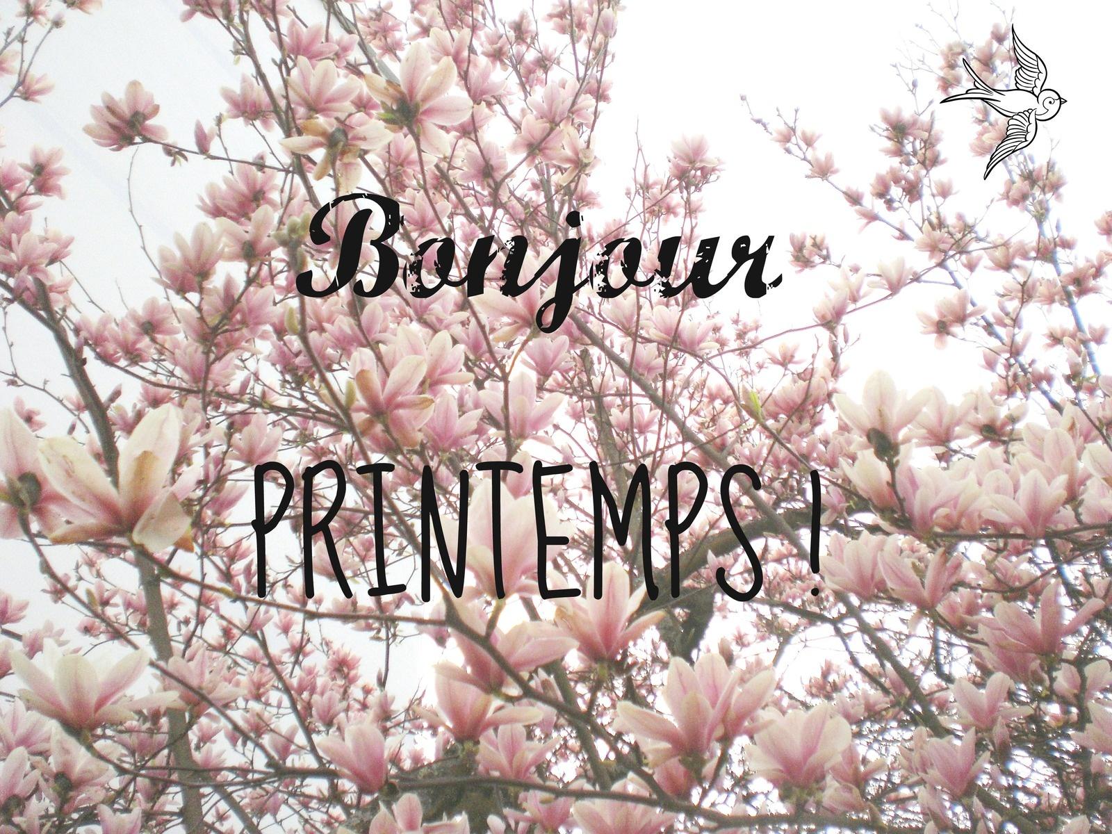 20 mars, bonjour printemps !