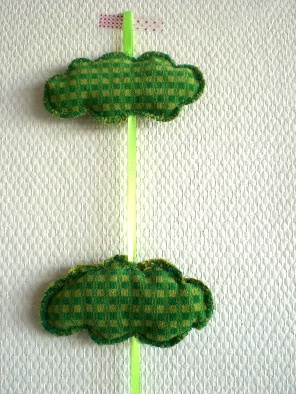guirlande de nuages verts Pimprelys