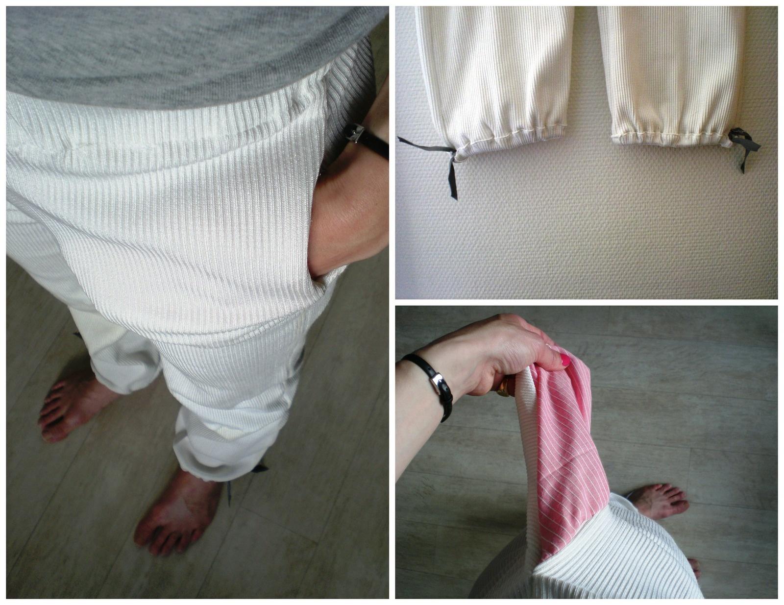 détails de coutre d'un pyjama