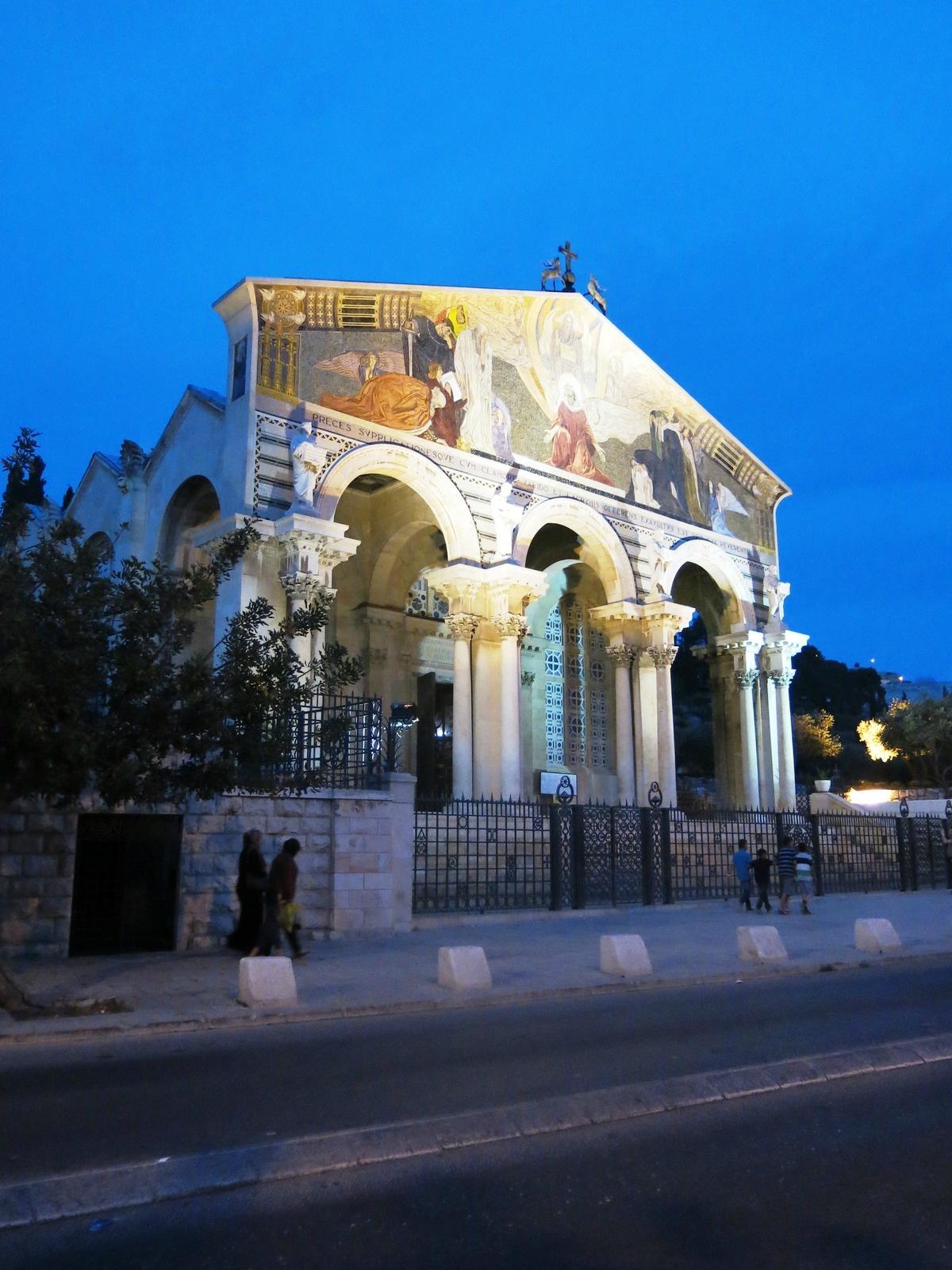 terre sainte israel monuments et lieux Eglise