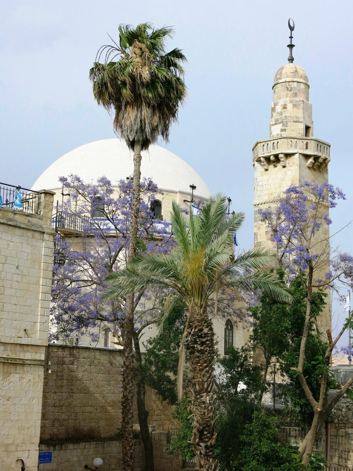 terre sainte israel monuments et lieux Mosquée