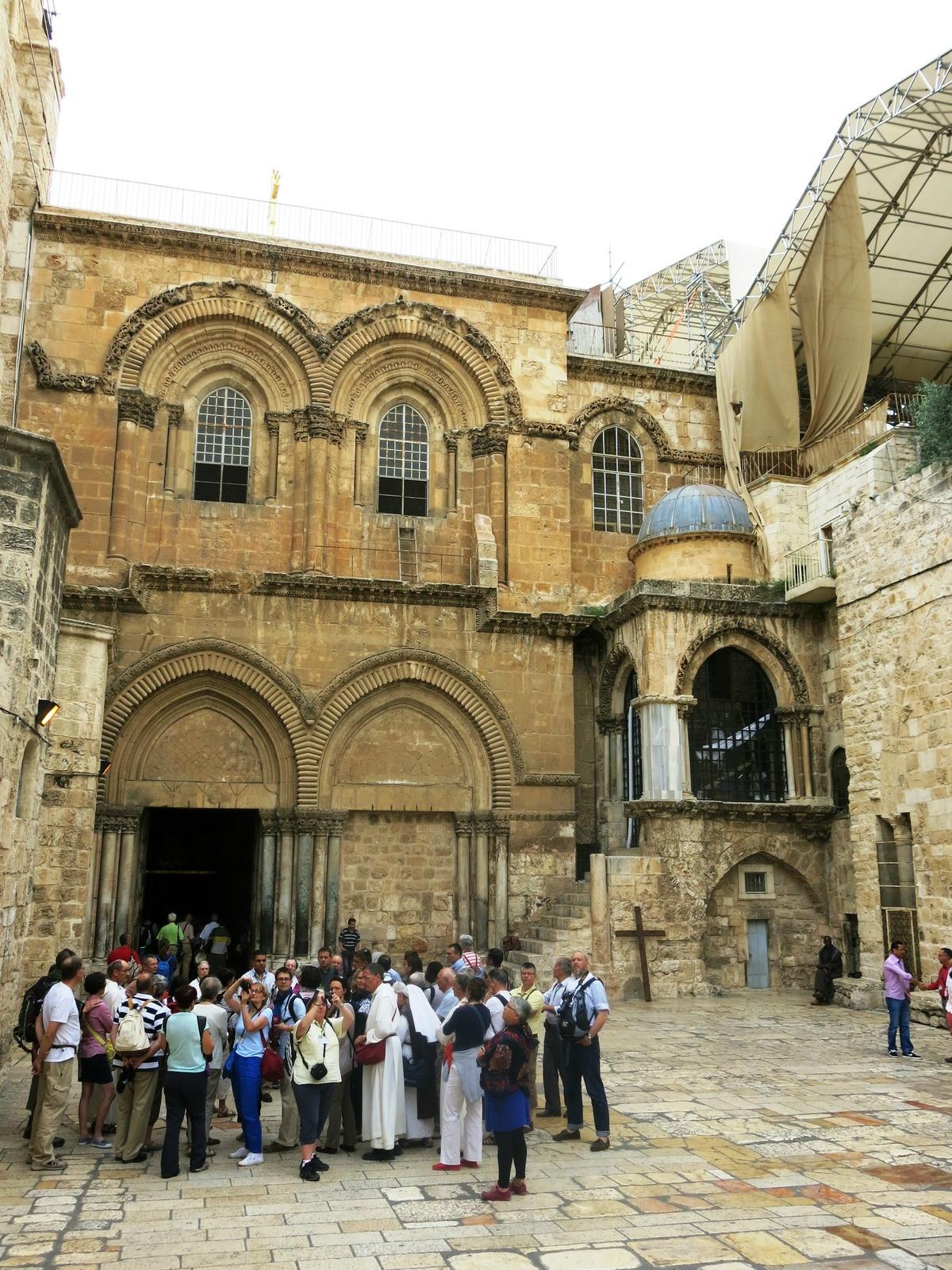 terre sainte israel monuments et lieux Saint Sépulchre