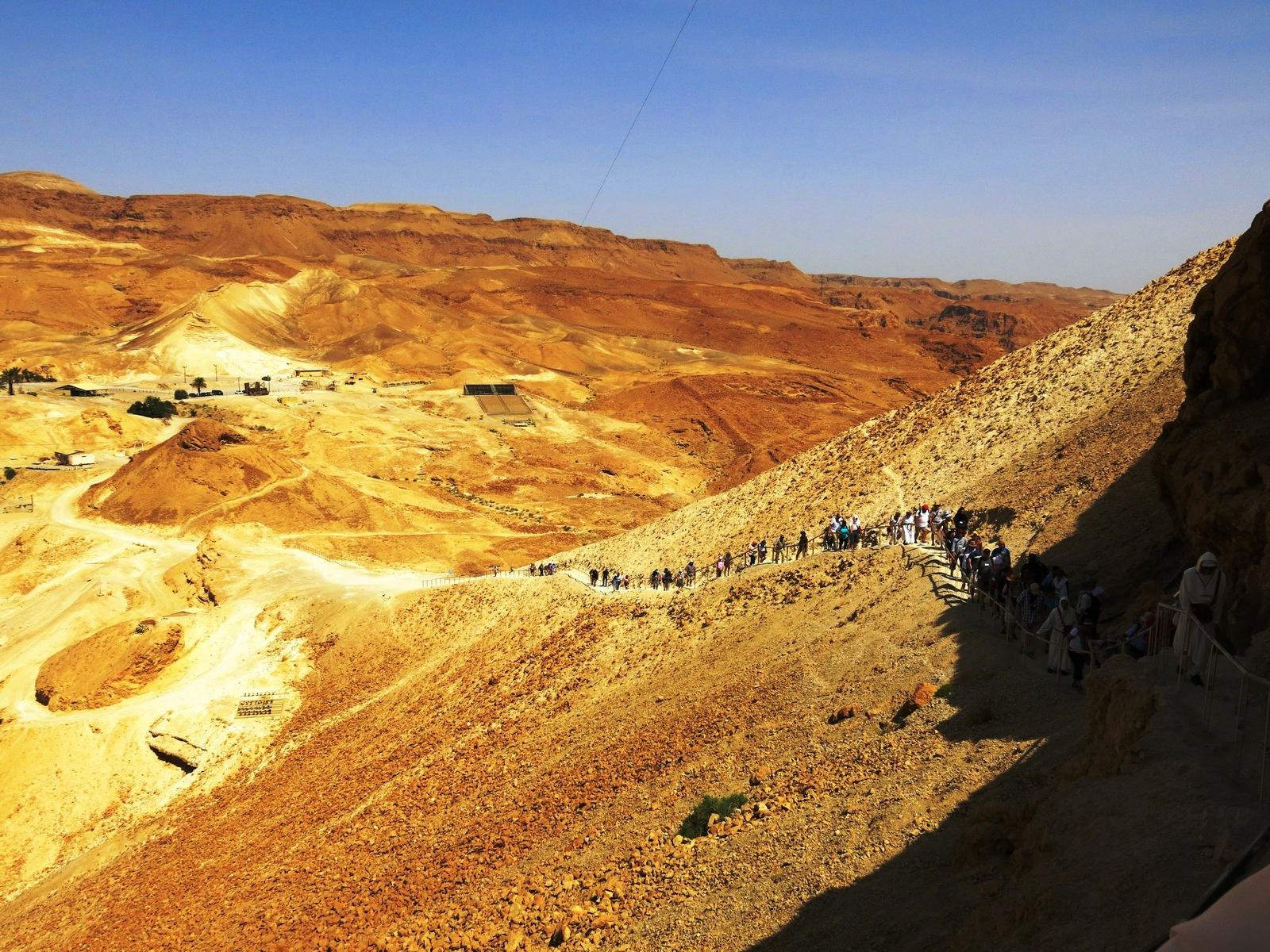 terre sainte israel monuments et lieux Massada