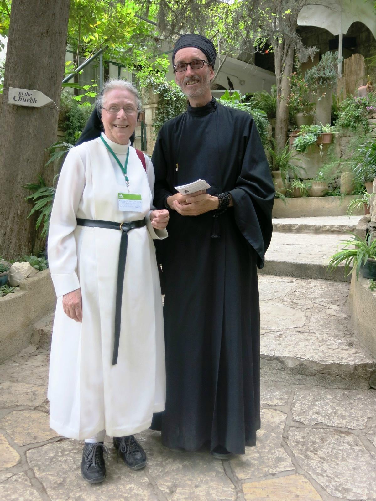 Terre sainte Israël Les gens Catholique et orthodoxe