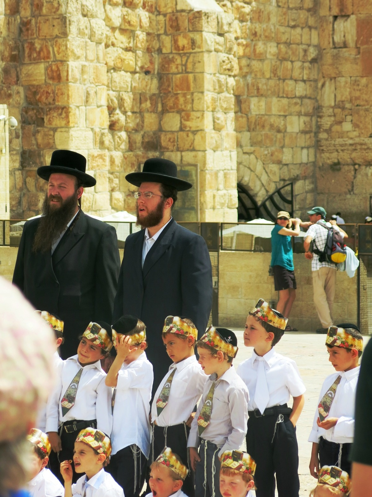 Terre sainte Israël Les gens Ecole juive