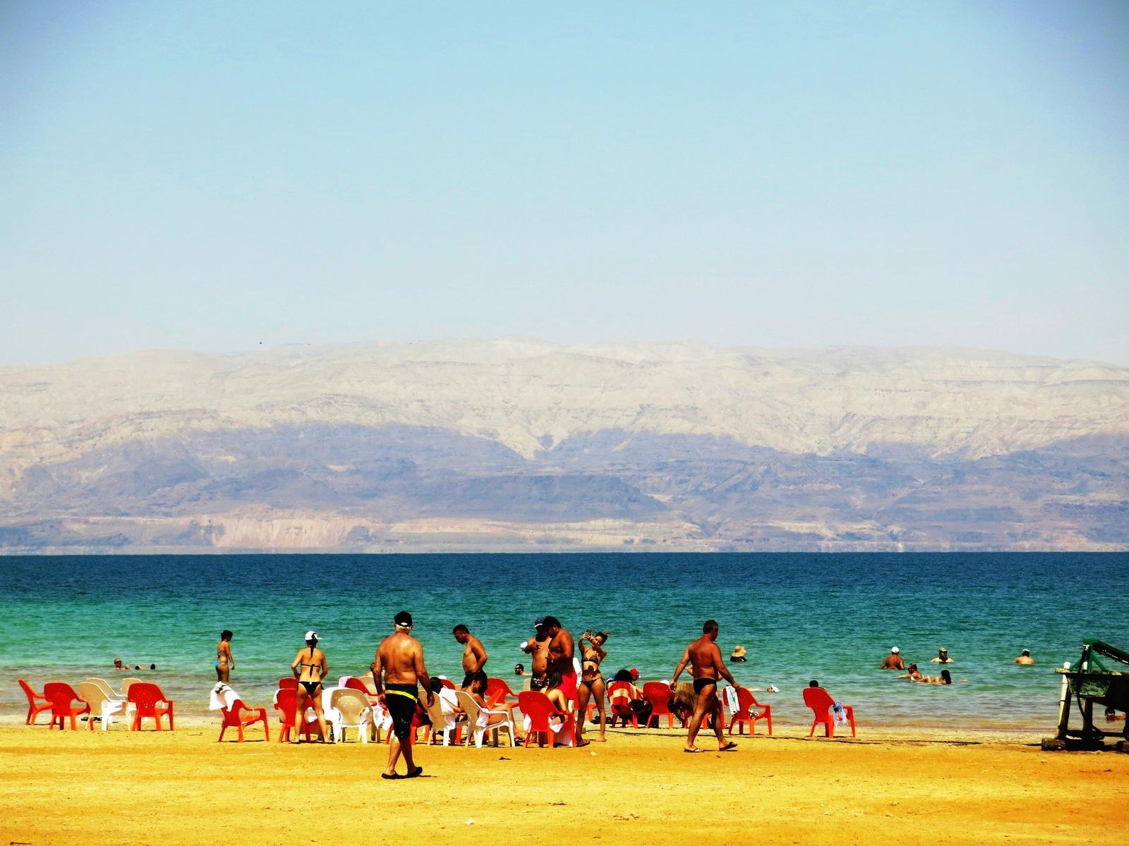 terre sainte israel monuments et lieux Mer Morte