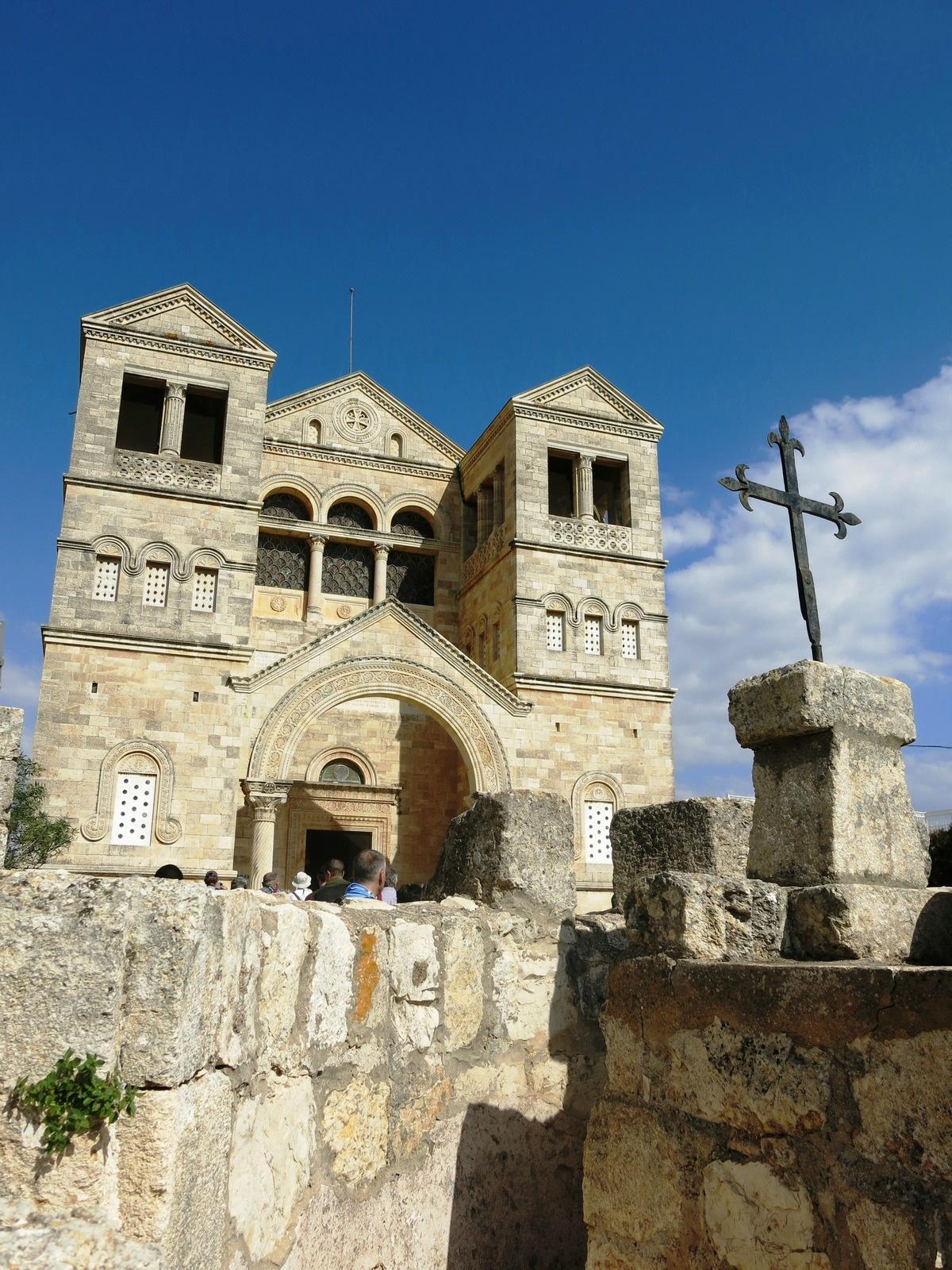 terre sainte israel monuments et lieux église et croix