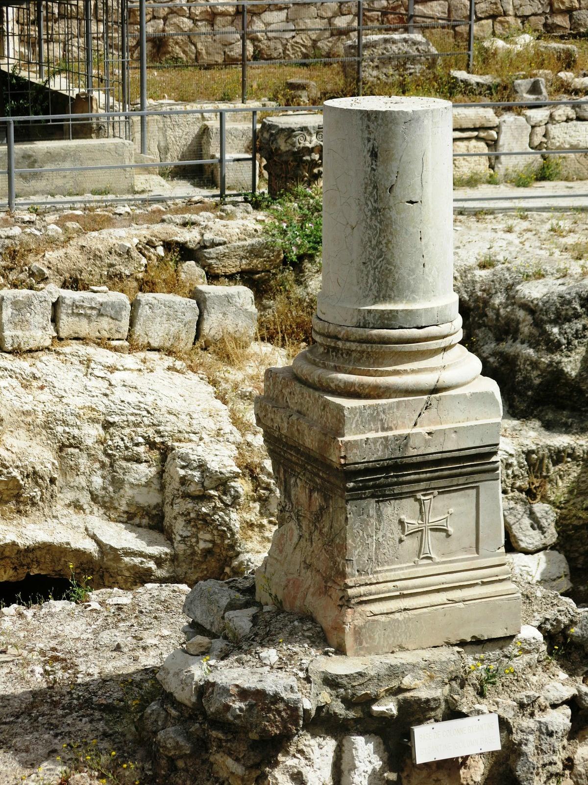 terre sainte israel monuments et lieux Pylone et croix