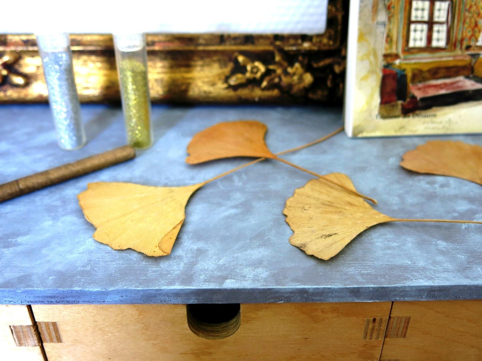 Meuble en bois fa on zinc pimprelys blog diy r cup for Peinture effet zinc