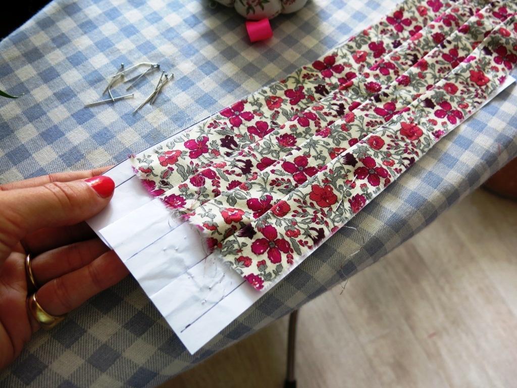 Fabriquer une ceinture plissée pour cortège Pimprelys