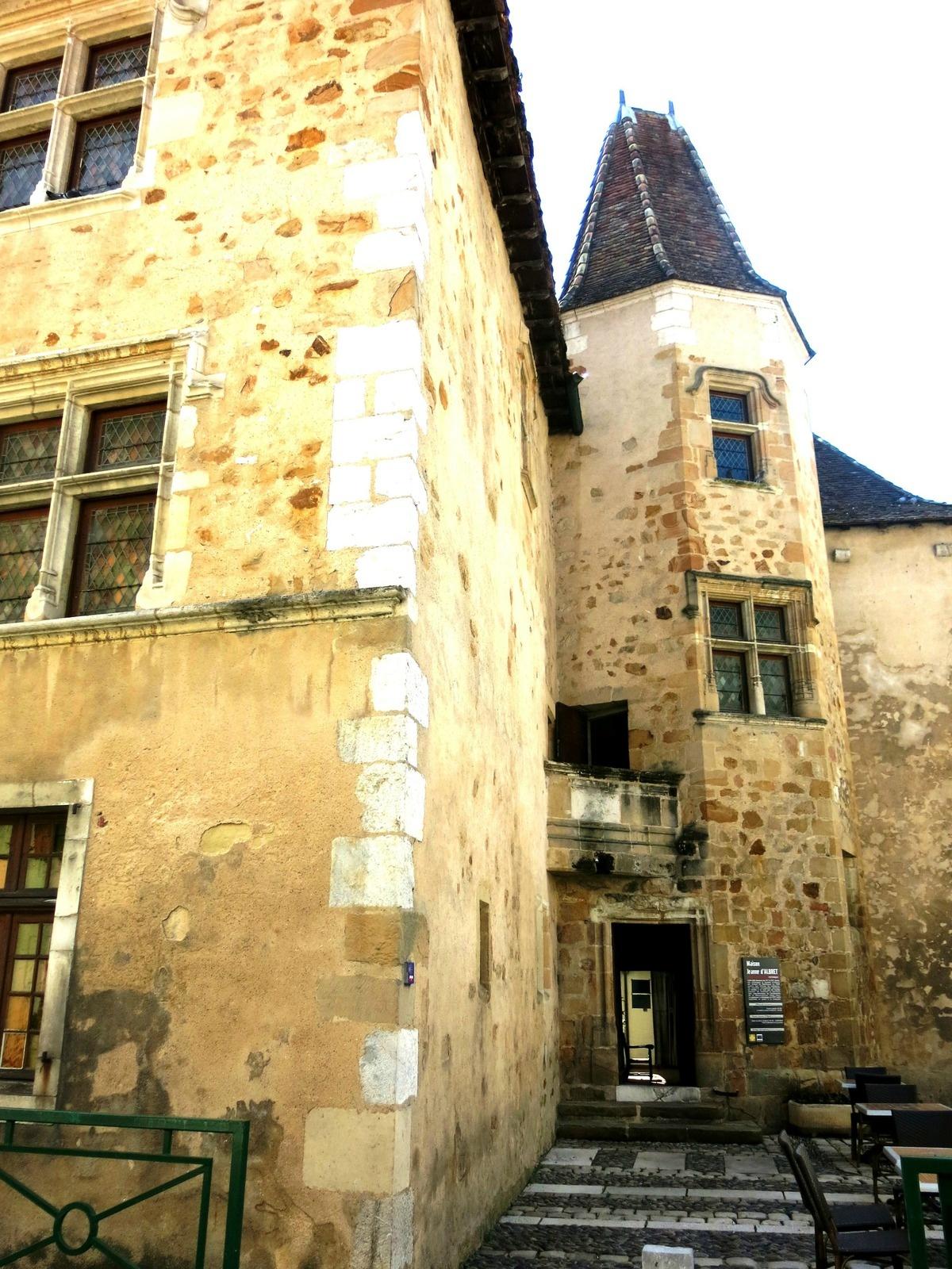 Maison de Jeanne d'Albret à Orhez