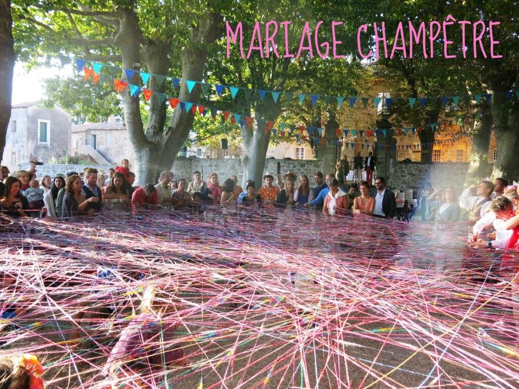 Été 2014 Mariage champêtre dans le Lrzac