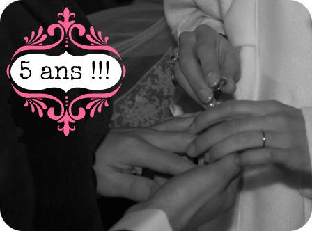 13 février : notre anniversaire de mariage
