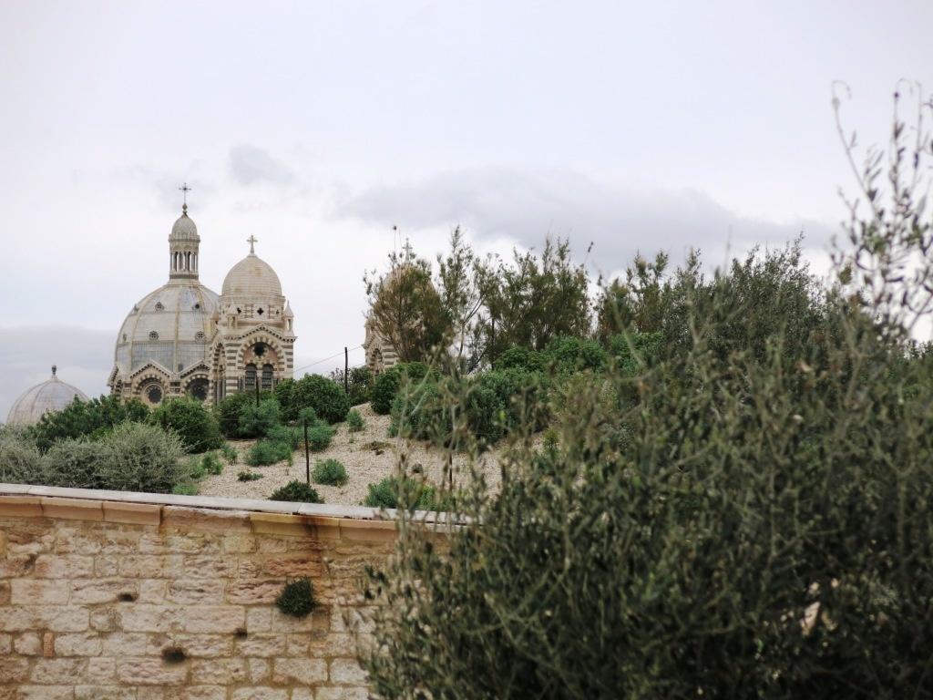La cathédrale vue depuis le Fort Saint Jean