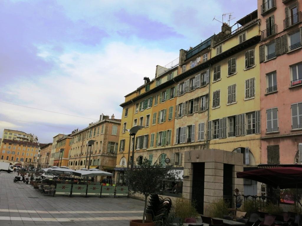 Les rues colorées de Marseille