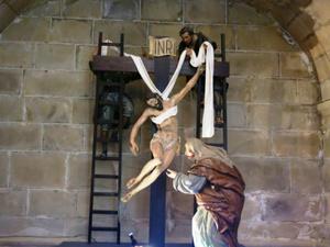 Descente de la croix style espagnol