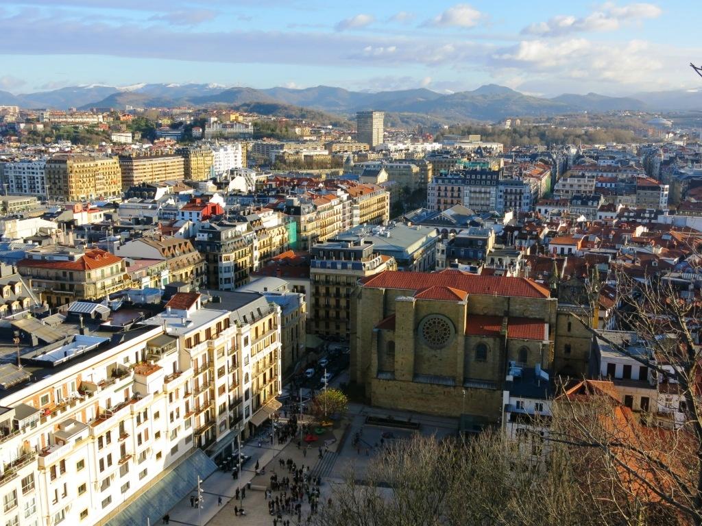 WE en amoureux à San Sebastian, Espagne