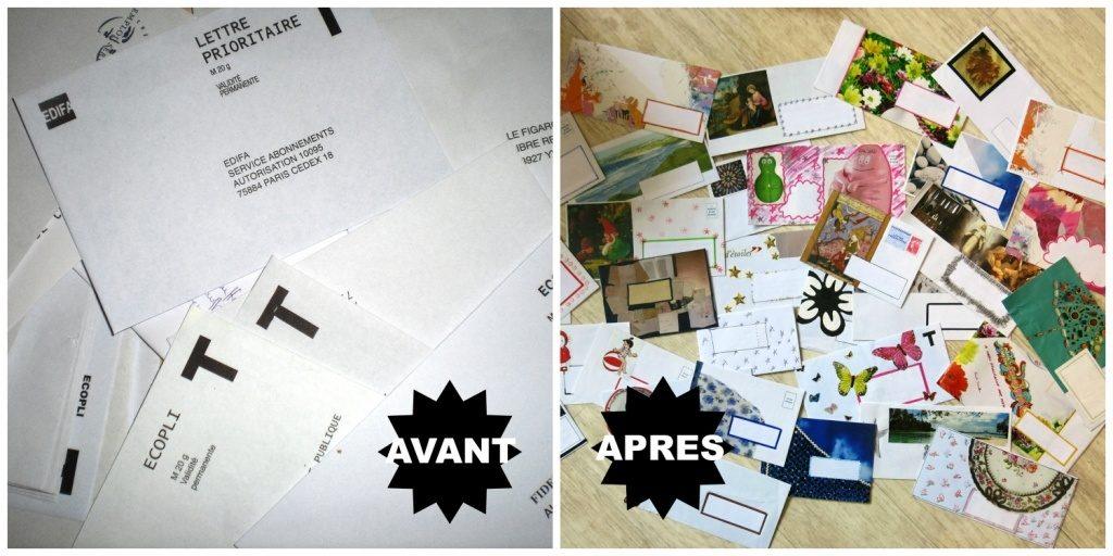 enveloppes customisées