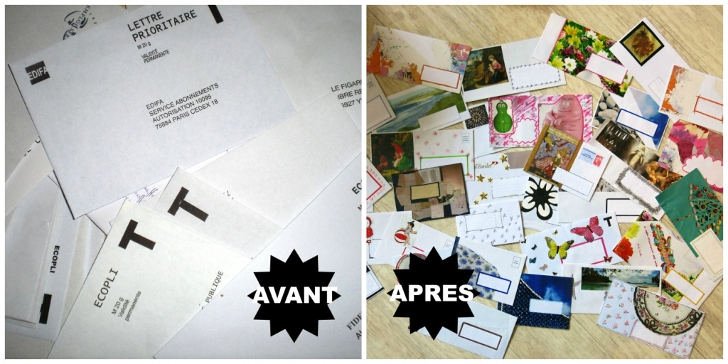 recycler ses enveloppes