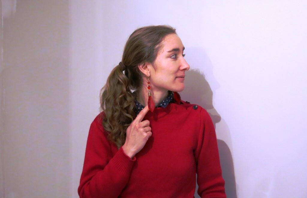 DIY : fabriquer des BO avec des décorations de Noël