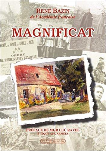 Couverture livre magnificat René Bazin