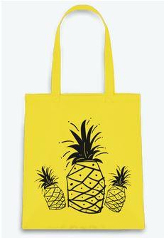 tote-bag Tunetoo Ananas