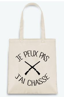 tote bag chasse