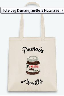 Tote-Bag Nutella