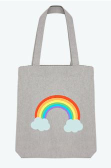 Tote-bag Tunetoo Arc en ciel