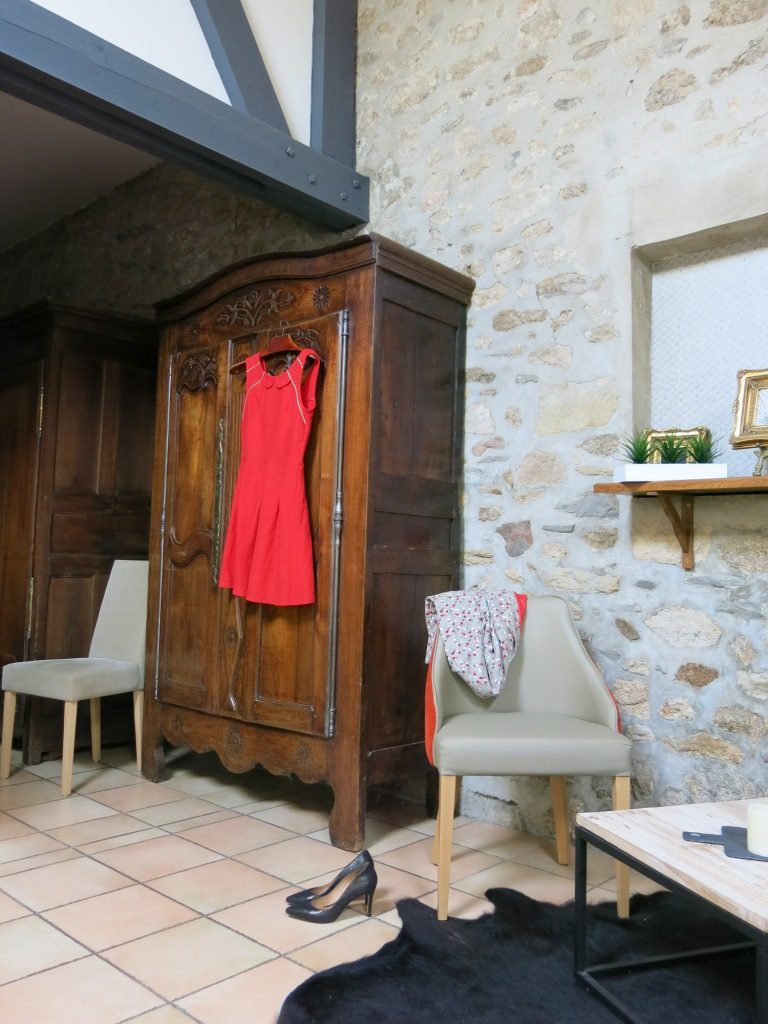 Robe rouge Domaine des Mauriers