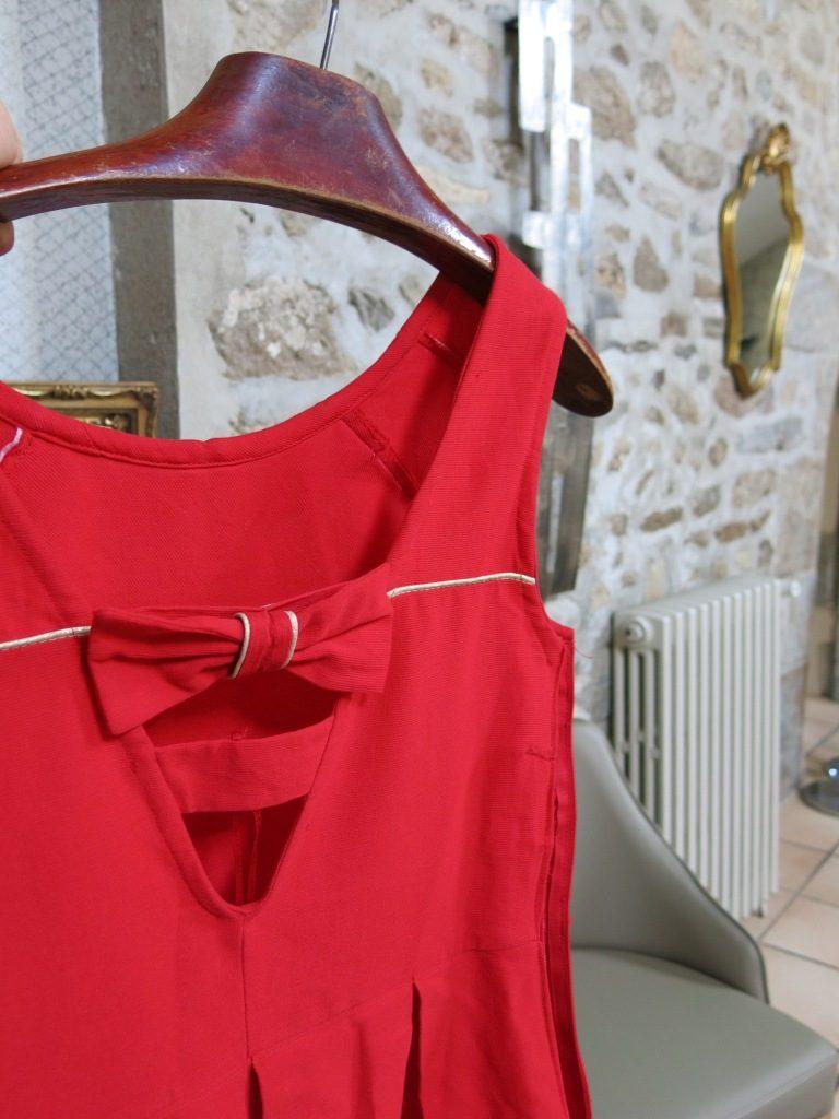 robe décolleté dans le dos Pimprelys