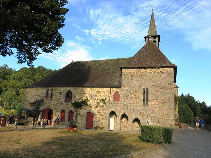 Chapelle château de val