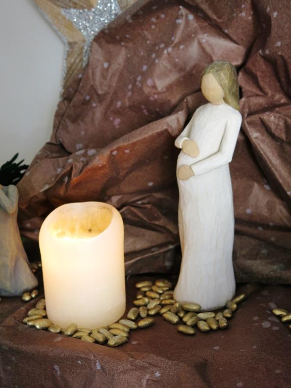Marie attendant Jésus