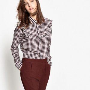 Chemise à carreaux La Redoute