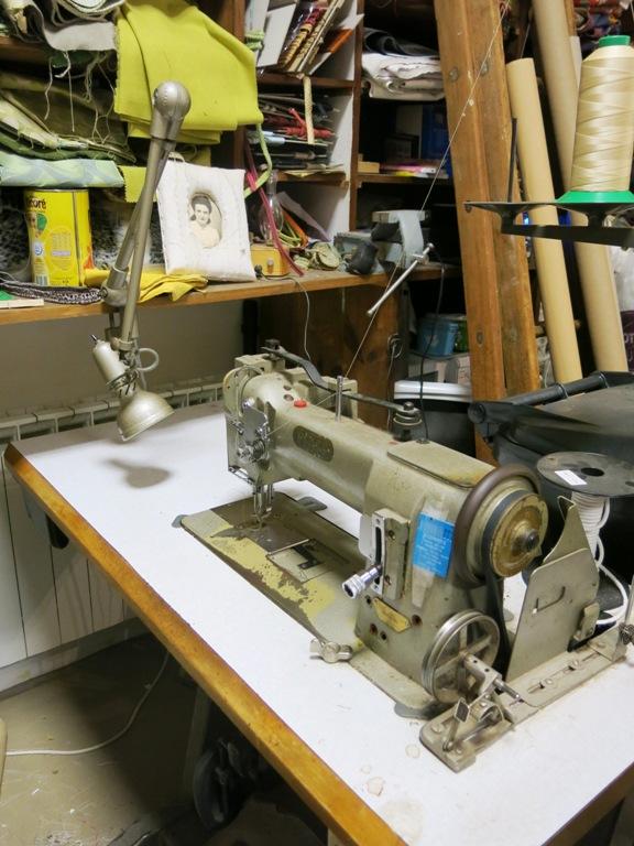 Ancienne machine à coudre
