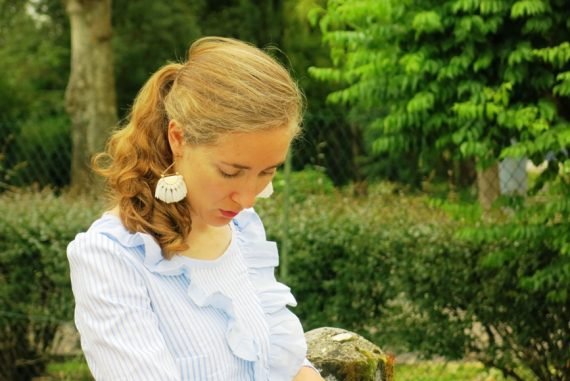 tunique à volants