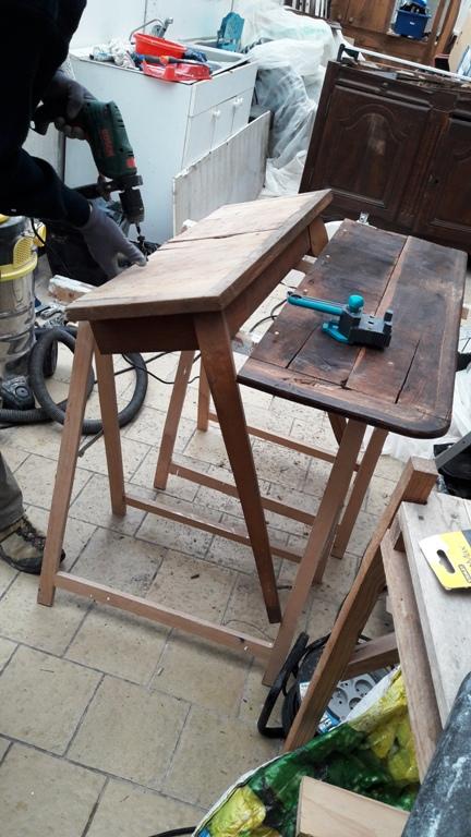 Console d'entrée avec une table 2