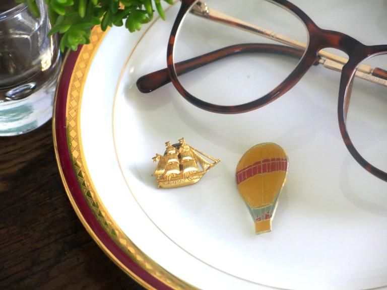 pins-bateau-montgolfière