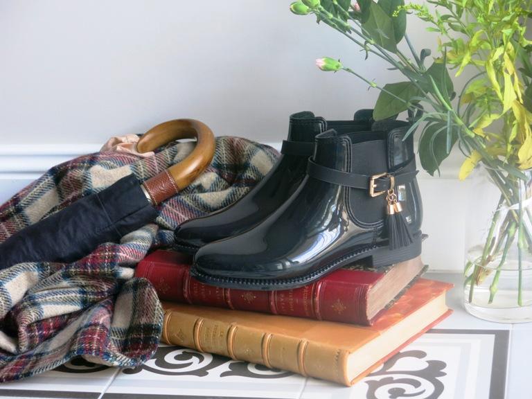 triporteur 3 boots de pluie