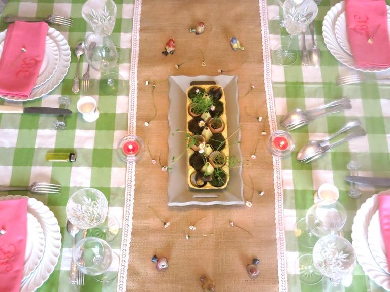 centre de table de pâques 3