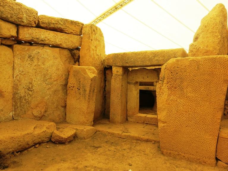 Temple Malte enceinte