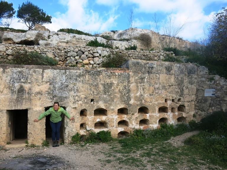 xemxija heritage trail Malte enceinte