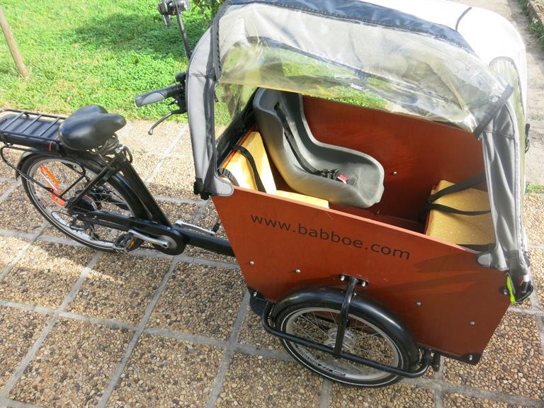 Coussins pour vélo cargo 18
