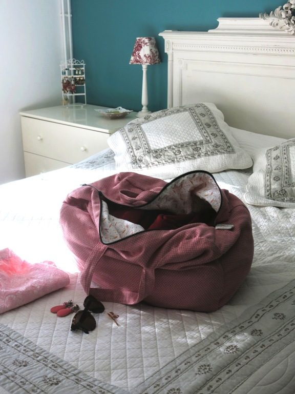 Sac week-end rose Aime comme Marie 7