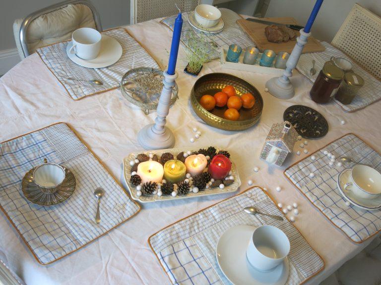 Set de table chemise d'homme Pimprelys 2
